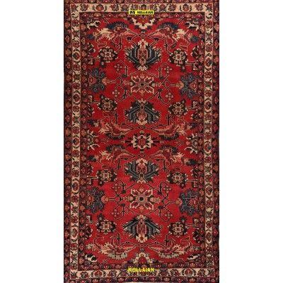 Bakhtiari d'epoca Persia 318x170-Mollaian-Tappeti-Antichi-Tappeti D'epoca-Bakhtiari-Old-Carpet-9170-575,00€-saldi--50%