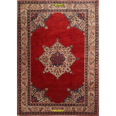 Saruk Persia 270x190-Mollaian-Tappeti-Antichi-Tappeti D'epoca-Saruq - Saruk - Mahal - Mahallat-Old-Carpet-5129-1.250,00€-sal...