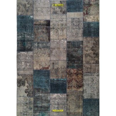 Patchwork Tabriz 30R Persia 298x210 Mollaian tappeti 12034 Mollaian Online - Tappeti Venduti - Tappeti non più Disponibili - ...