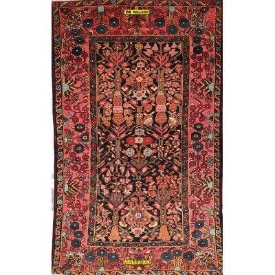 Bakhtiari Shalamzar antico Persia 222x140-Mollaian-Tappeti-Antichi-Tappeti Antichi-Bakhtiari-Old-Carpet-2678-2.250,00€-saldi...