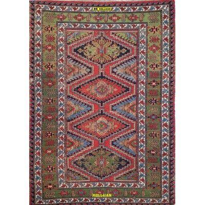 Sumak Antico Caucasico 245x170-Mollaian-Tappeti-Antichi-Tappeti Antichi-Sumak - Sumagh - Sumaq-Old-Carpet-4096-2.750,00€-sal...