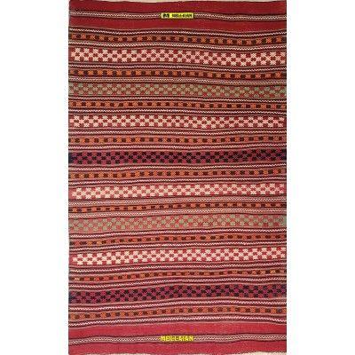Kilim Suzani Caucasico Antico 250 x 157-Mollaian-Antique-Rugs-Antique carpets-Sumak - Sumagh - Sumaq-old-carpet-4622-1.500,00...