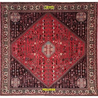 Abadeh Persia 190x190-Mollaian-Square-Rugs-Square and oversize carpets-Abadeh-543-900,00€-Sale--50%