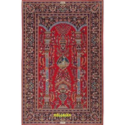 Kashan Kurk Persia 222x145-Mollaian-Classic-Rugs-Classic carpets-Kashan-2535-1.750,00€-Sale--50%