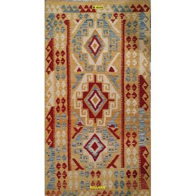Kilim Vaziri Melange 188x100 Mollaian carpets 13096 Kilim -Sumak -50% 115,00€ Kilim -Sumak