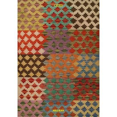 Kilim Vaziri Melange 121x85 Mollaian carpets 13038 Kilim -Sumak -50% 65,00€ Kilim -Sumak