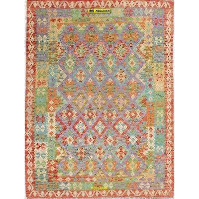 Kilim Vaziri Melange 204x148 Mollaian carpets 13066 Kilim -Sumak -50% 180,00€ Kilim -Sumak