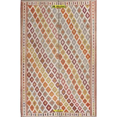 Kilim Suzani Ancient Anatolia 231x150-Mollaian-Tappeti-Antichi-Tappeti Antichi-Sumak - Sumagh - Sumaq-Old-Carpet-4655-1.500,0...
