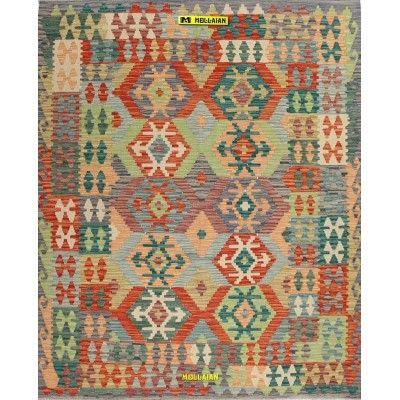 Kilim Kaudani Melange 198x161 Mollaian carpets 13252 Kilim -Sumak -50% 295,00€ Kilim -Sumak