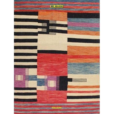 Kilim Kaudani Melange 196x146 Mollaian carpets 13250 Kilim -Sumak -50% 295,00€ Kilim -Sumak