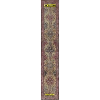 Kerman old Persia 470x80-Mollaian-Antique-Rugs-Antique carpets-Kerman - Kirman-old-carpet-4290-1.250,00€-Sale--50%