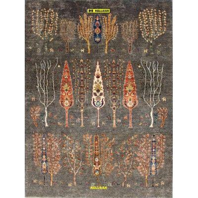 Ariana extra 234x174-Mollaian-Gabbeh-Contemporary-Rugs-Gabbeh and Modern Carpets-Ariana-13024-1.800,00€-Sale--50%