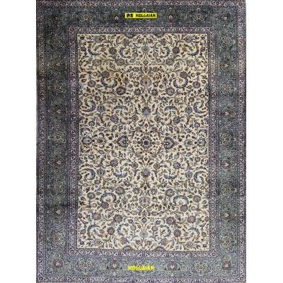 Kashan Kurk Persia 408x297-Mollaian-Classic-Rugs-Classic carpets-Kashan-3696-3.300,00€-Sale--50%