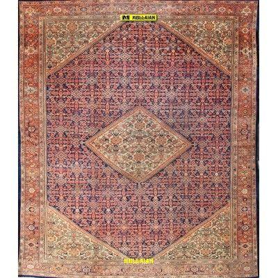 Malayer antico Persia 380x320-Mollaian-Tappeti-Antichi-Tappeti Antichi-Malayer-Old-Carpet-3995-12.000,00€-saldi--50%