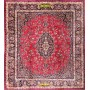 Old Persian Mashad 350x310-Mollaian-Square-Rugs-Square and oversize carpets-Mashad-9302-2.200,00€-Sale--50%