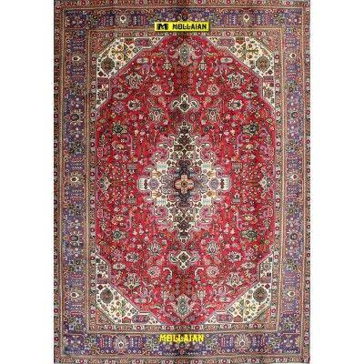 Tabriz d'epoca 30R Persia 297x205-Mollaian-Tappeti-Antichi-Tappeti D'epoca-Tabriz-Old-Carpet-12937-700,00€-saldi--50%