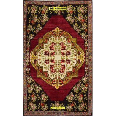 Old Karabagh Azerbaijan 208x128-Mollaian-Antique-Rugs-Antique carpets-Karabagh-old-carpet-0095-2.100,00€-Sale--50%