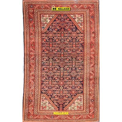 Antique Malayer Persia 208x126-Mollaian-Antique-Rugs-Antique carpets-Malayer-old-carpet-0121-2.800,00€-Sale--50%
