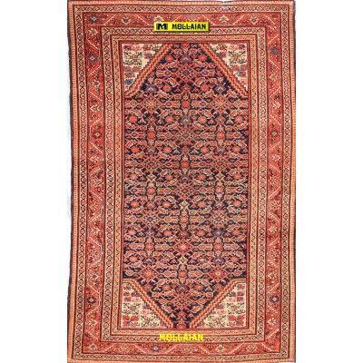 Malayer antico Persia 208x126-Mollaian-Tappeti-Antichi-Tappeti Antichi-Malayer-Old-Carpet-0121-2.800,00€-saldi--50%