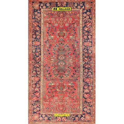 Malayer antico Persia 202x108-Mollaian-Tappeti-Antichi-Tappeti Antichi-Malayer-Old-Carpet-0200-1.325,00€-saldi--50%