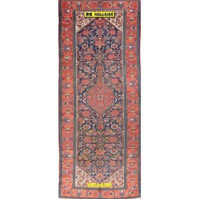 Malayer antico Persia 375x155-Mollaian-Tappeti-Antichi-Tappeti Antichi-Malayer-Old-Carpet-0350-4.975,00€-saldi--50%
