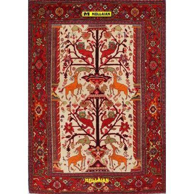Karabagh antico Azerbaijan 187x131-Mollaian-Tappeti-Antichi-Tappeti Antichi-Karabagh-Old-Carpet-2282-2.975,00€-saldi--50%