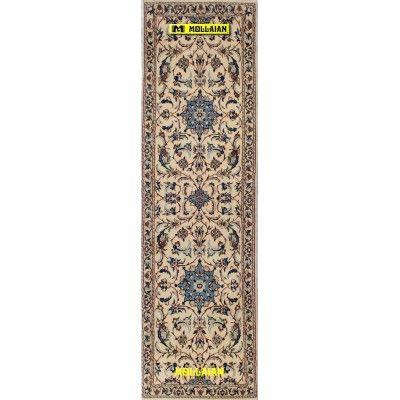 Nain 9 line Persia 204x60-Mollaian-Runner-Rugs-Runner Rugs - Lane Rugs - Kalleh-Nain-2360-400,00€-Sale--50%