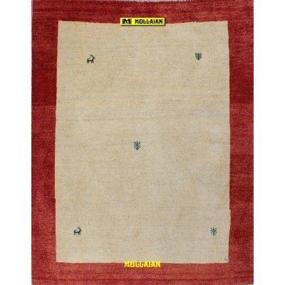 Gabbeh Kashkuli 198x156-Mollaian-Tappeti-Gabbeh-Moderni-Tappeti Gabbeh e Moderni-Gabbeh-3066-575,00€-Saldi--50%
