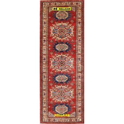 Uzbek Ghazni 256x88-Mollaian-Tappeti-Passatoia-Tappeti Passatoie - Corsie - Kalleh-Uzbek - Uzbeck-6211-675,00€-Saldi--50%
