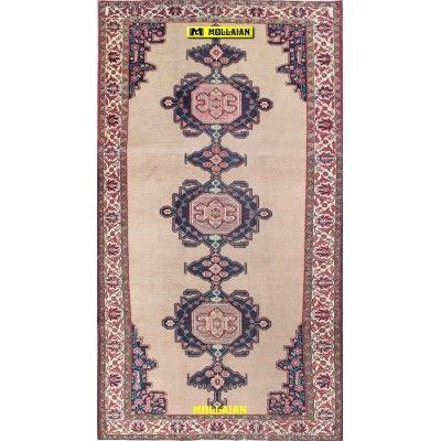 Meshkin d'epoca Persia 302x162-Mollaian-Tappeti-Antichi-Tappeti D'epoca-Meshkin-Old-Carpet-7066-499,50€-saldi--50%