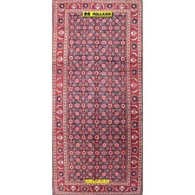 Meshkin Herati d'epoca Persia 333x154-Mollaian-Tappeti-Antichi-Tappeti D'epoca-Meshkin-Old-Carpet-7091-499,50€-saldi--50%