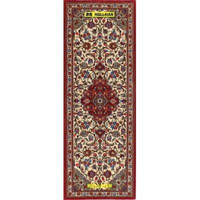 Qum Kurk Persia 158x56-Mollaian-Runner-Rugs-Runner Rugs - Lane Rugs - Kalleh-Qum - Ghom-7960-625,00€-Sale--50%