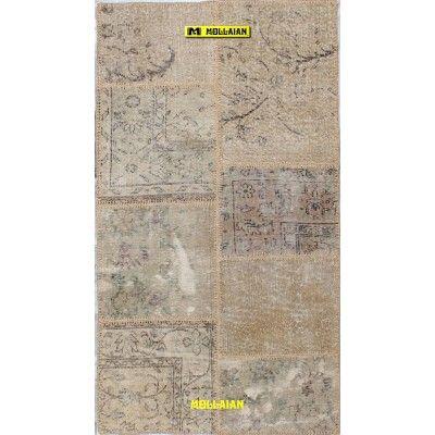 Patchwork Vintage 160x90-Mollaian-Patchwork-Vintage-Rugs-Patchwork Vintage carpets-Patchwork Vintage-11046-185,00€-Sale--50%