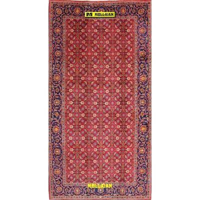 Kashan Kurk Persia 310x160-Mollaian-Geomtric-Rugs-Geometric design Carpets-Kashan-11197-1.500,00€-Sale--50%e