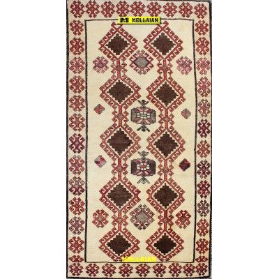Old Persian Gabbeh Kashkuli 227x118-Mollaian-Gabbeh-Contemporary-Rugs-Gabbeh and Modern Carpets-Gabbeh Kashkuli-11210-525,00...