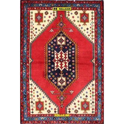 Hamedan Persia 161x110-Mollaian-Geomtric-Rugs-Geometric design Carpets-Hamedan-13281-225,00€-Sale--50%e