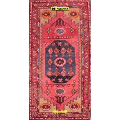 Hamedan old Persia 200x106-Mollaian-Antique-Rugs-Old Carpets-Hamedan-old-carpet-8149-210,00€-Sale--50%