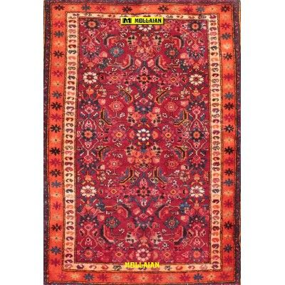Hamedan old Persia 197x136-Mollaian-Antique-Rugs-Old Carpets-Hamedan-old-carpet-8110-325,00€-Sale--50%