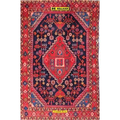 Nahavand old Persia 185x115-Mollaian-Antique-Rugs-Old Carpets-Nahavand-old-carpet-8599-245,00€-Sale--50%