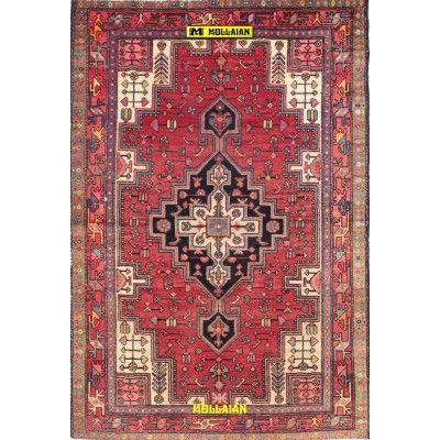 Nahavand d'epoca Persia 200x130-Mollaian-Tappeti-Antichi-Tappeti D'epoca-Nahavand-Old-Carpet-8125-390,00€-saldi--50%
