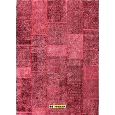 Patchwork Tabriz 30R Persia 299x210-Mollaian-Tappeti-Antichi-Tappeti D'epoca-Patchwork Vintage-Old-Carpet-12029-900,00€-sald...