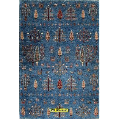 Ariana extra 263x178-Mollaian-Gabbeh-Contemporary-Rugs-Gabbeh and Modern Carpets-Ariana-13014-1.800,00€-Sale--50%