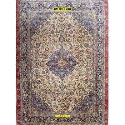 Antique Kashan Persia 353x247 Kashan Mollaian Antique rugs 1858 Kashan 15.000,00€ -50%