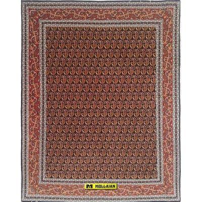 Tabriz 60R extra fine Persia 198x152 Mollaian carpets 5898 Classic carpets -50% 3.000,00€ Classic carpets