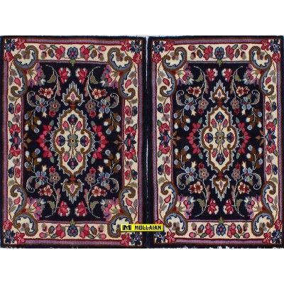 Kerman Persia 84x59-Mollaian-Tappeti-Scendiletto-Tappeti Scendiletto-Kerman - Kirman-13427-13428-200,00€-Saldi--50%