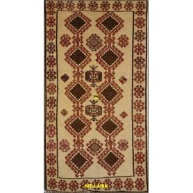 Old Persian Gabbeh Kashkuli 227x118