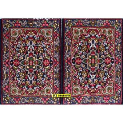 Kerman Persia 84x60-Mollaian-Tappeti-Scendiletto-Tappeti Scendiletto-Kerman - Kirman-13425-13426-200,00€-Saldi--50%
