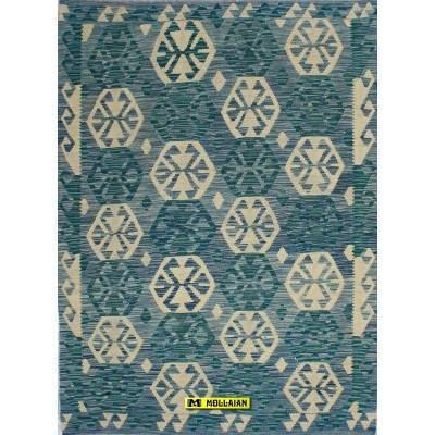 Kilim Kaudani Melange 172x129-Mollaian-rugs-Kilim -Sumak-Kilim - Kaudani - Vaziri - Herat-geometrico-13363-215,00€-Sale--50%