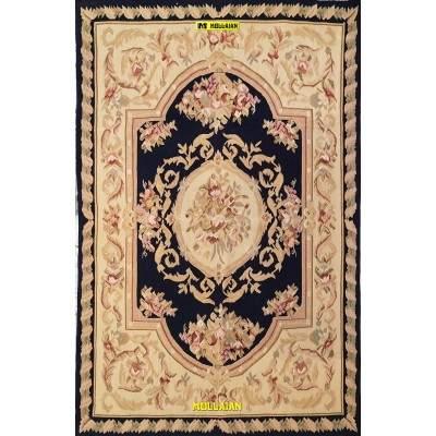 Aubusson 187x120 Blue-Mollaian-rugs-Aubusson and Tapestries-Aubusson-geometrico-4115-450,00€-Sale--50%