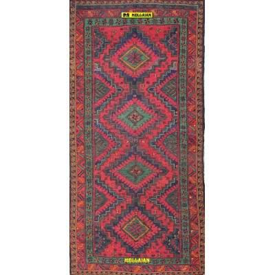 Sumak Antico Caucasico 315x155-Mollaian-Tappeti-Geometrici-Tappeti Geometrici-Sumak - Sumagh - Sumaq-0330-1.800,00€-Saldi--50%